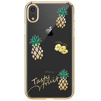 Чехол Kingxbar Tropical для iPhone XR Pineapple
